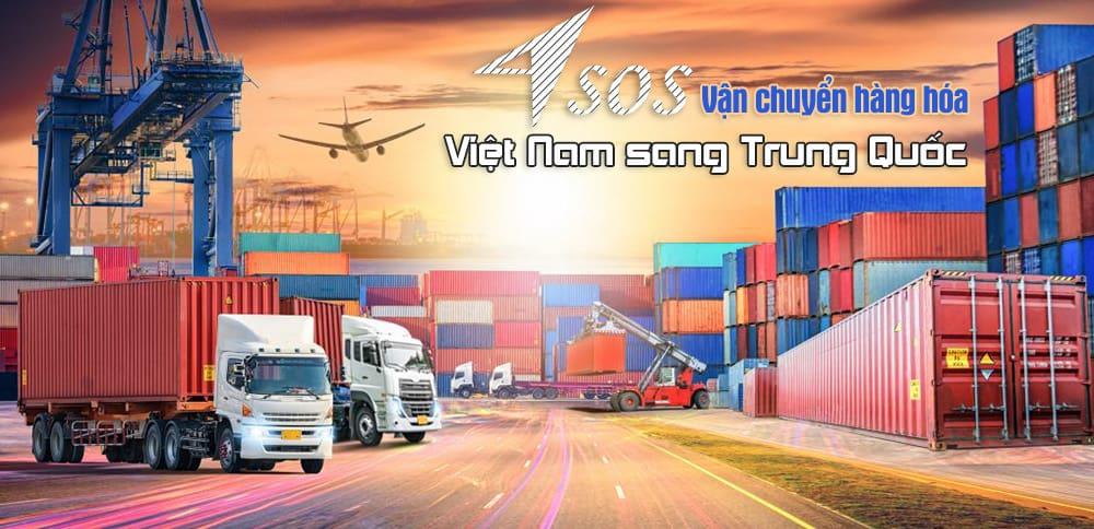 Vận chuyển hàng hóa từ Việt Nam sang Trung Quốc