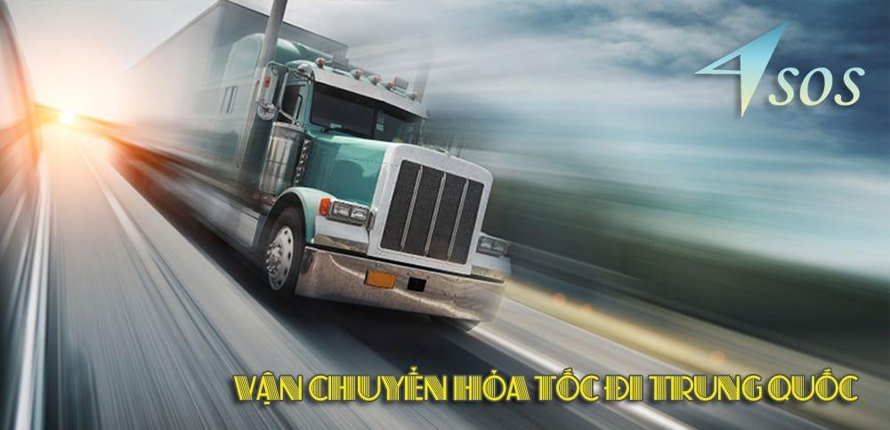Vận chuyển hỏa tốc đi Trung Quốc