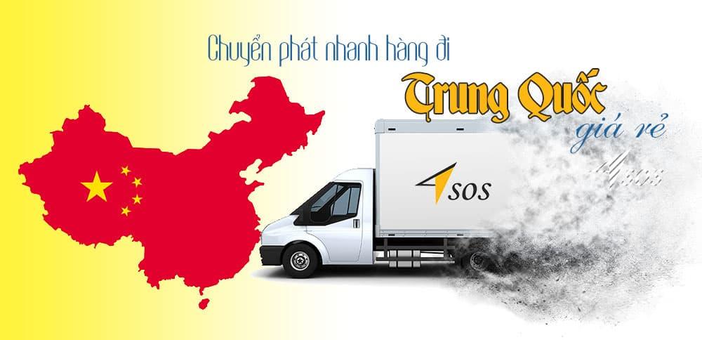 Chuyển phát nhanh hàng hóa đi Trung Quốc giá rẻ