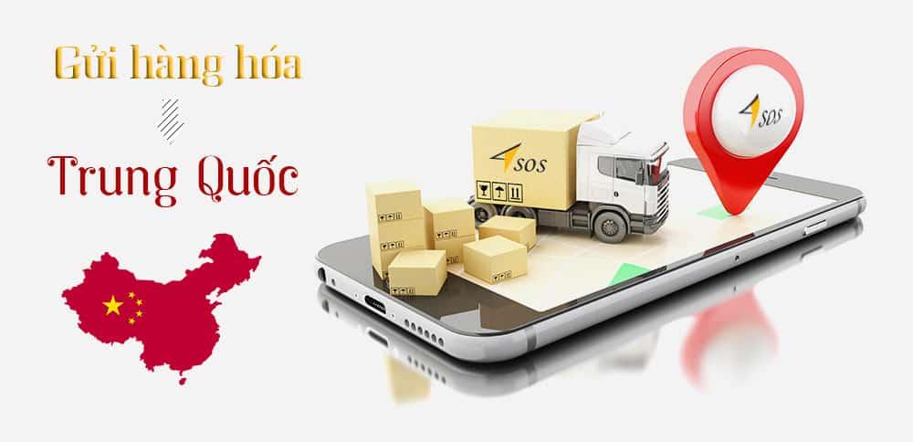 Gửi hàng hóa đi Trung Quốc