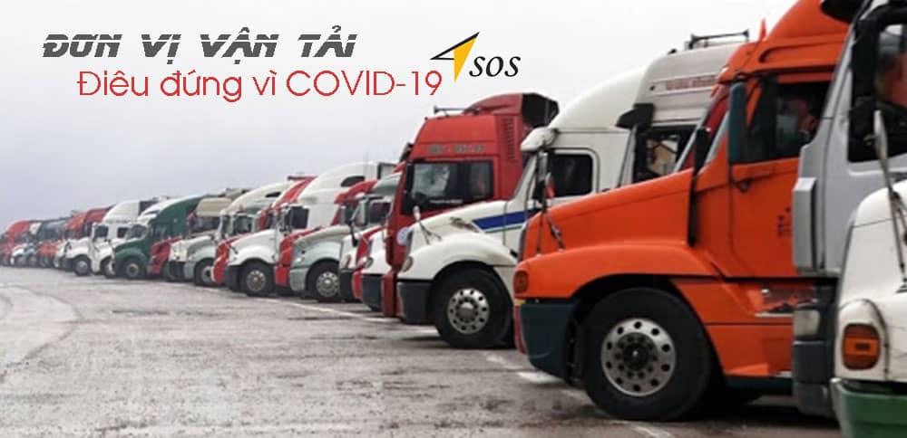 Đơn vị vận tải điêu đứng vì covid 19