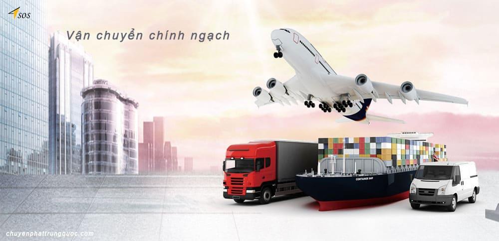 Các phương tiện vận chuyển chính ngạch